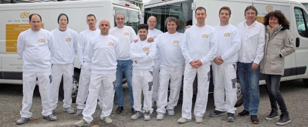 15 Jahre GST - Bild des ganzen Teams